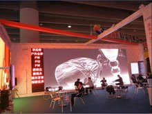 good quality led screen outdoor full color p16 rgb/china xxx video curtain wall for outdoor advertising