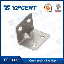 Furniture cabinet fittings Iron metal connecting shelf support brackets