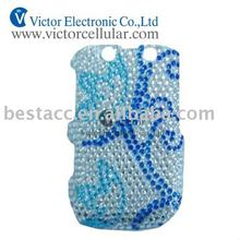 Rhinestone cover for blackberry curve 8520