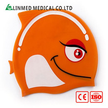 Factory offer bubble silicone swim hats for long hair