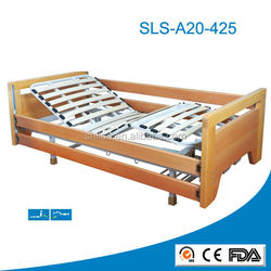 European style nursing wooden home care full electric turning medical bed