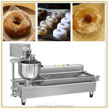 Auto small type donut frying machine;donut machine for frying;donut machine