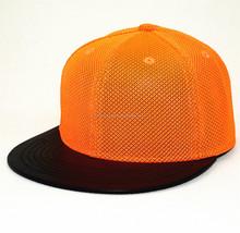 Wholesale high quality hip hop flat brim snapback hats