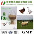 Animal feed grade épi de maïs d'essai par nitrate d'argent titrage 60% chlorure de choline