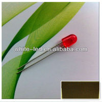 546 oval led red lamp p10 outdoor display screen led module /Ovalada 5mm led