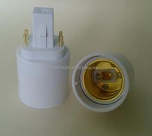 CFL G24 to E27 lamp base adapter