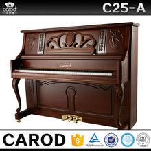 Carod acoustic teak wooden flexible keyboard piano