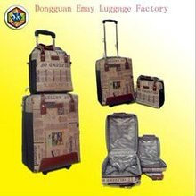 2012 Customers Satisfied Carry-on PU Luggage