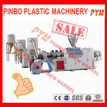 Waste film plastic recycling machine