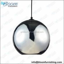 Tom Dixon Light, Copper Shade, Copper Pendant Lamp