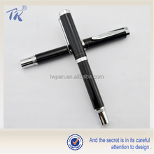 China Made School Supplies Stationary Products Metal Black Fountain Pen