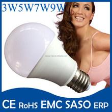 8W 10W 12W E27 LED bulb lamp High quality pure aluminium led lamp bulb e27