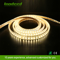 SMD 3528 2835 3014 5050 ip65 waterproof 100m/roll led strip light 220-240v led light strip 5050