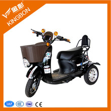 2015 jinpeng new design electric scooters disabled tricycle