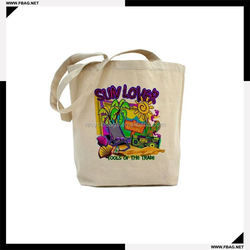 100% QC Eco-friendly promotional ecological cotton bag
