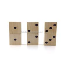 bulk usb flash drive wood material USB 2.0 usb stick dice shape