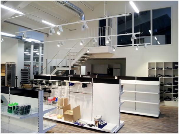 주도 트랙 조명 건축 40w 1- 회로 옥수수 LED 트랙 레일 아트 갤러리 ...