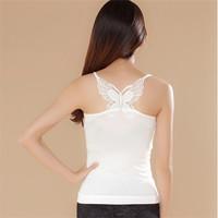 7106A bamboo women tank top stringer tank tops wholesale Ms. long bamboo fiber back butterfly vest primer Vietnam hot underwear
