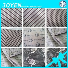 100% polyester oxford taffeta printed logo for bags lining fabric 200D*200D oxford printed bags lining fabric