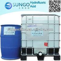 Manufacturer hot sale for Hydrofluoric Acid/HF acid