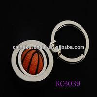 Best popular souvenirs 3d basketball metal keychain