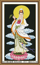 NEW DIY FAMOUS CLASSICAL CHINESE DIAMOND ANTIQUE PAINTING FOR BLESS THE GODDESS OF MERCY