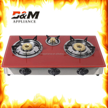 2015 popular selling 3 burner gas stove,India burner gas stove