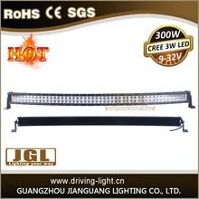 300w Cree Led Light Bar Radius 52'' LED Light Bar Off Road, Car LED Light Arch Bent 4x4