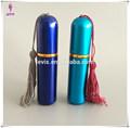 5ml de lujo hermosa mini aluminio perfume atomizador