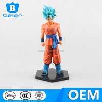 Wholesale cool 6.5 inch Dragon Ball Z anime figure for collection, PVC anime figure with ABS base design, China toy manufacturer