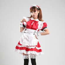 High Quality Uniform Clothes Sexy Dress Japanese Lolita Maid Dress Waitress Costumes Anime Cosplay Halloween Costume Fancy Dress