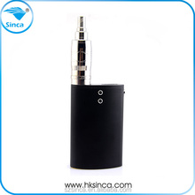 Innovation flask temperature control Aluminum frosted oxidation 0.1-1ohm resistance outout power 1-40w rohs vape pen vaporizer