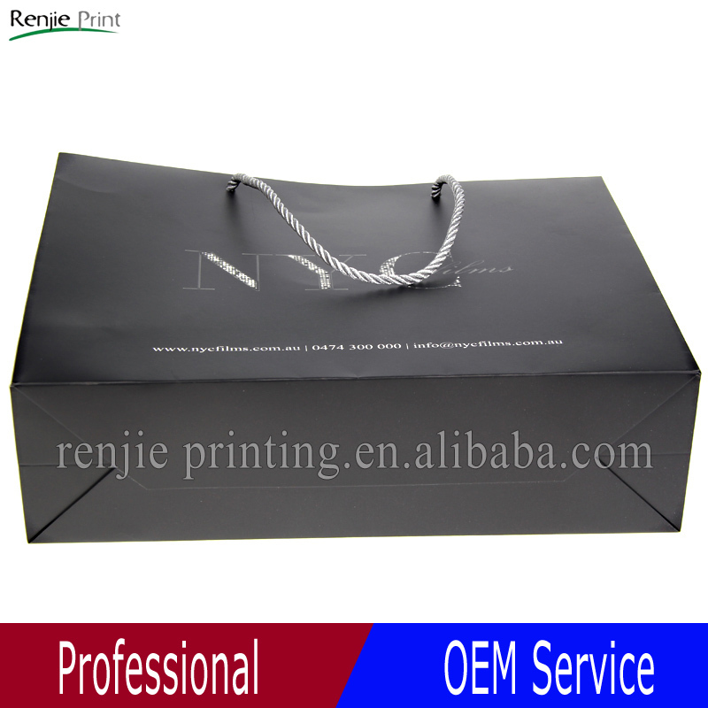 Customized Shopping Paper Bag,Recycle Paper Bag,Fashion Paper Bags