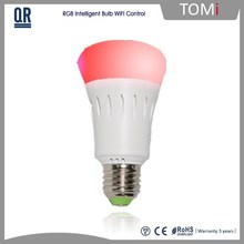 2015 Top Quality Wife Control Cheap Price CE 8W Led Lighting Bulb,China Wholesale E27 Led Bulb, Low Price Led Bulb