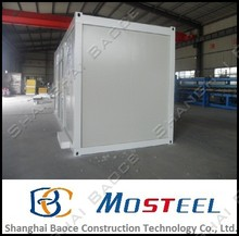 shipping20 ft pu high quality container house