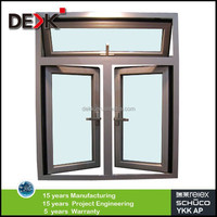 powder coating quality aluminium casement window,new window design