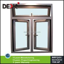 powder coating quality aluminium casement window,new window design