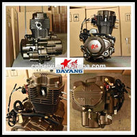 1 Cylinder Air Cooling Zongshen 200cc Motorcycle Accessories Of Engine
