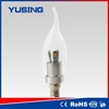 Candle flame light bulb 3w led bulb usa