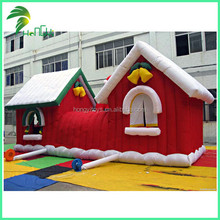 hot sale inflatable Christmas house decoration for Christmas promotion