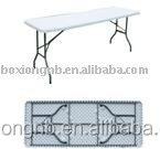 4-Foot regular folding table
