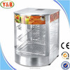 Electric glass stainless steel commercial catering pie and food warmer
