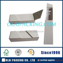 deluxe rectangular paper pen box for wholesale