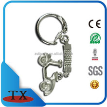 ancient metal motorcycle key holder