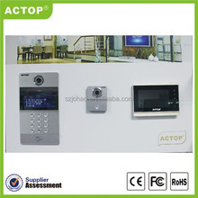2014 ACTOP hot sale color display tcp/ip access control keypad module