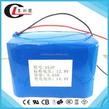 Factory promotion 12.8v li ion battery pack