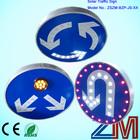 Boa qualidade de tráfego sinal de cautela/solar estrada sinal