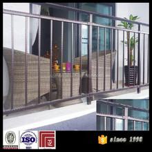 hot dip galvanized steel railing for balcony