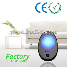 High Efficient Indoor home negative ions air purifier with 12 million ions