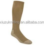 large boot crew sock coyote brown